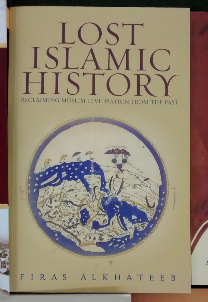 Book # 3: Lost Islamic History. If you are on the Internet and you do not know about this book...then hey,  you haven't been on the Internet. This book is a Twitter sensation. Hold it! I'm not recommending this book yet. Prebooked this in May '14, received it after nearly eight emails to the publisher complaining about the delay.
