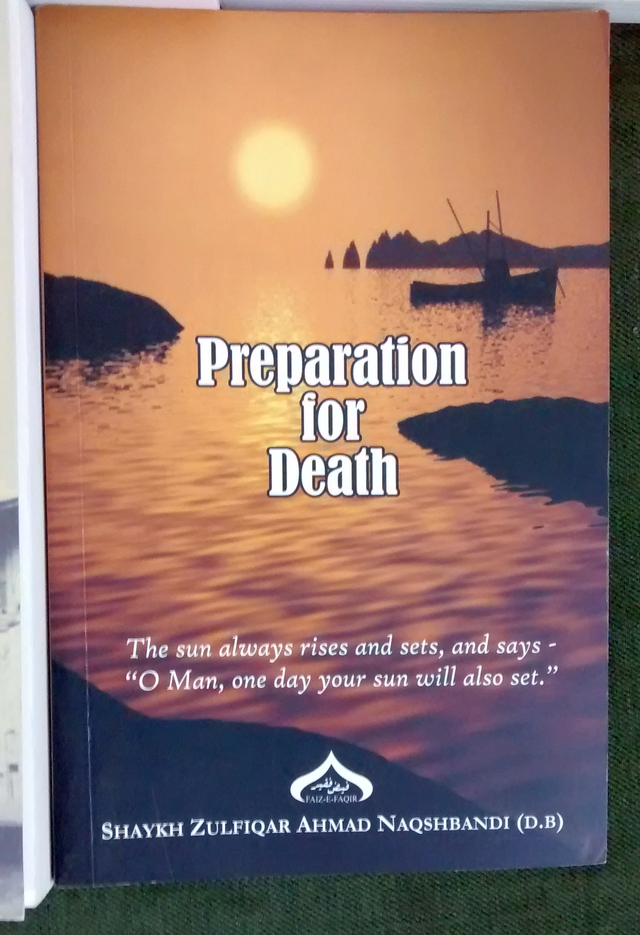 "Book # 6"" Prepartion for Death by Maulana Zulfiqar Naqshbandi (db). Well the title says it all. Great anecdotes and great flow."